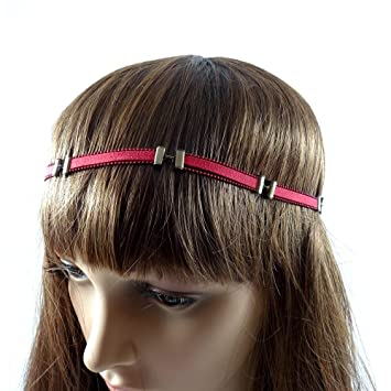 rougecaramel headband bandeau headband bandeau bijou de t te bijou de cheveux rouge. Black Bedroom Furniture Sets. Home Design Ideas