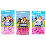 Perler Bead Bag, Light Pink, with Pink and Bubble Gum, 3-Pack (Color: Light Pink, Pink & Bubblegum)
