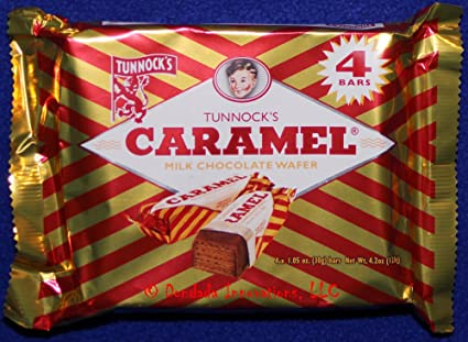 Caramel Wafer Bars Tunnock's Caramel Wafer Bars