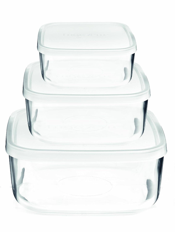 bormioli rocco 388550sb4021990 frigoverre square glass. Black Bedroom Furniture Sets. Home Design Ideas