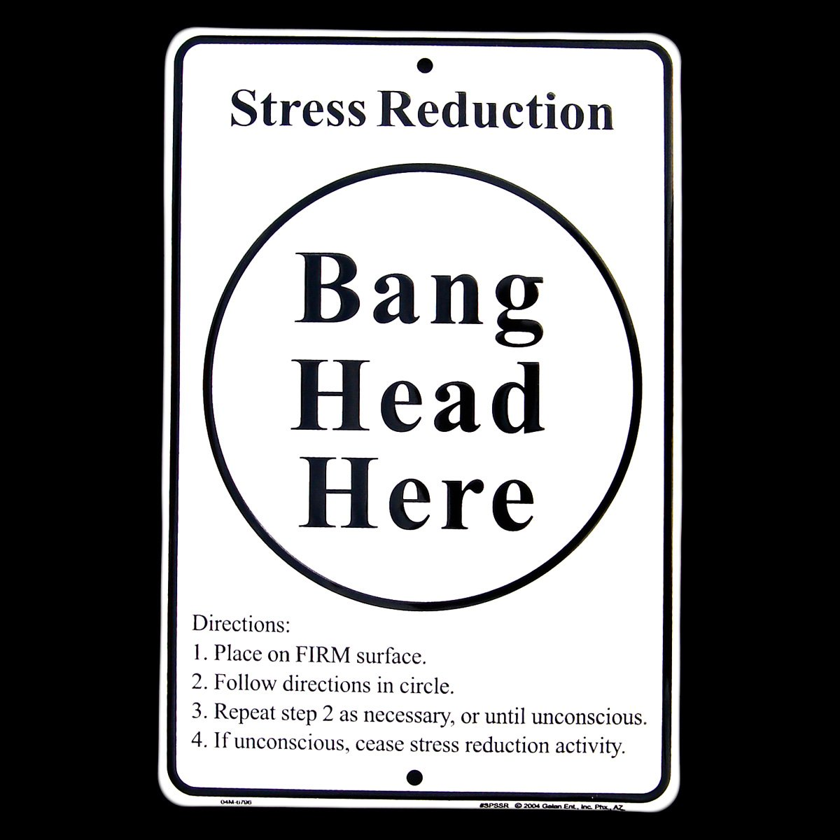 Funny Work Stress Meme : Quot bang head here sign on a bulletin board at my university