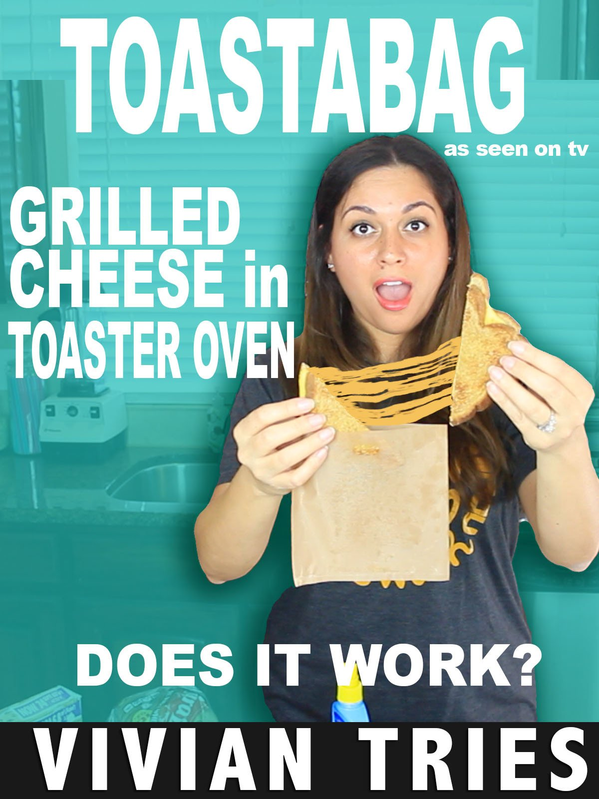Review: Vivian Tries Toastabag Grilled Cheese in Toaster Oven