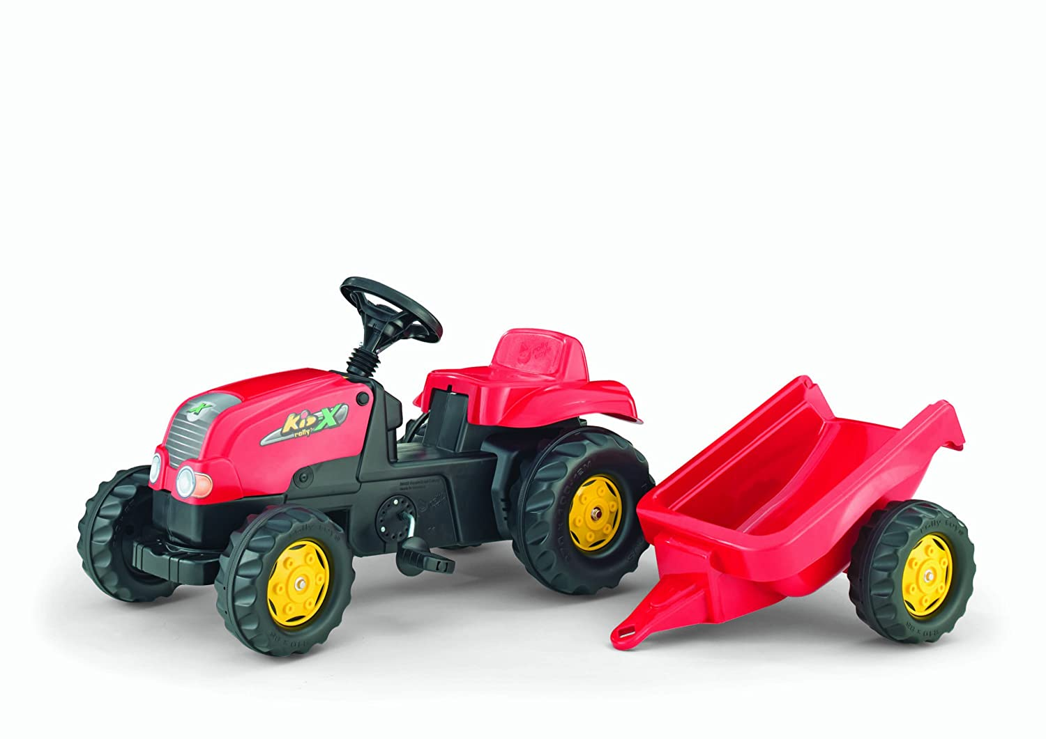 Rolly Kid-X Tractor, Red