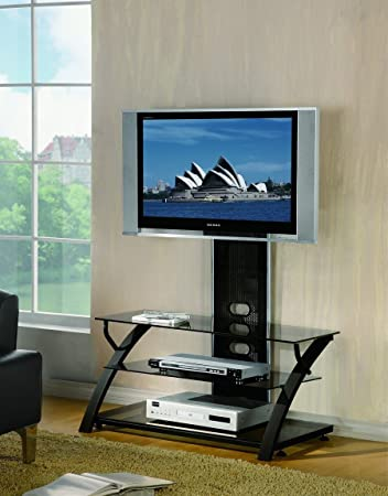 Beacon Flat Screen TV Stand Entertainment Center by Crown Mark