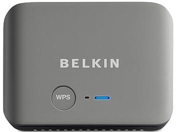 Belkin Wireless Dual-Band Travel - Router (10, 100 Mbit/s, 802.11a, 802.11b, 802.11g, 802.11n, 11, 54, 150 Mbit/s, Ethernet (RJ-45), IEEE 802.11a, IEEE 802.11b, IEEE 802.11g, IEEE 802.11n, 128-bit WEP, WPA2) Negro