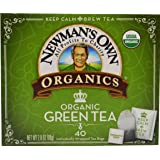 Newman's Own Organics Green Tea, 40 Count (Pack of 6) (Tamaño: 40 Count (Pack of 6))