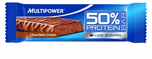 Multipower - 50% Protein Bar, Chocolate-Cream, 24 x 50g