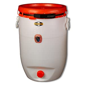 Speidel Getränke und Mostfass 60 Liter mit allem Zubehör, RUND  BaumarktKundenbewertung: