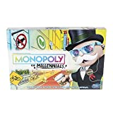 Monopoly for Millennials Board Game (Color: Multicolored, Tamaño: Monopoly for Millennials)