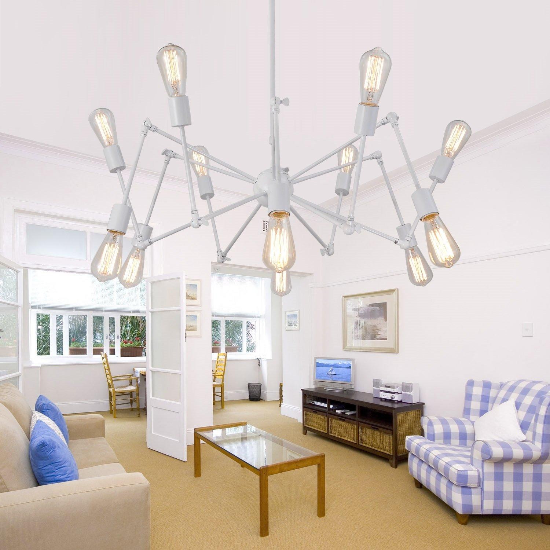 OOFAY LIGHT® Einfach und elegant retro Wohnzimmer Schlafzimmer Kronleuchter Kronleuchter 12 Restaurant Kronleuchter Kronleuchter