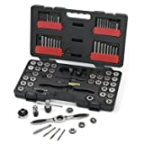 GearWrench 3887 Tap and Die 75 Piece Set - Combination SAE/Metric (1 UNIT) (Tamaño: 1 UNIT)