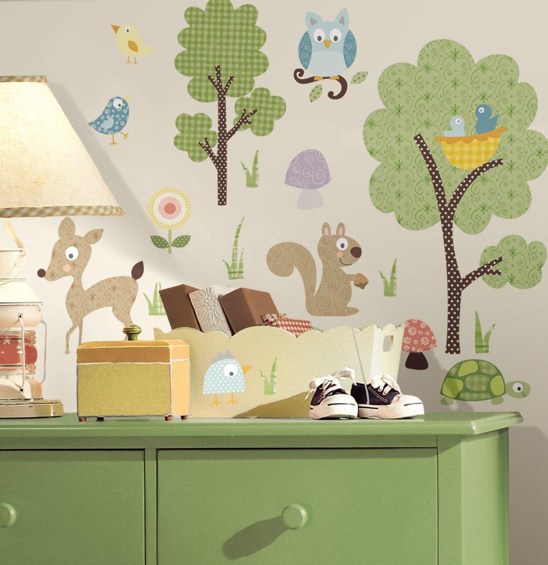 Wandsticker baby niedliche wandgestaltung f r das babyzimmer - Wandgestaltung babyzimmer ...