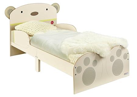 Hello Home Snuggle tiempo abrazo de oso cama infantil con diseño de, crema