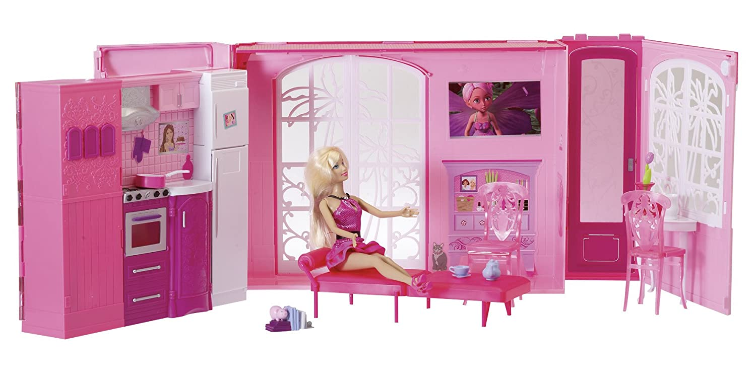 Maison rose barbie