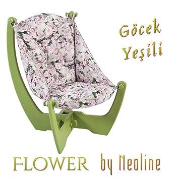 GOCEK grun–NeoLine Liege Sofa Ottomane