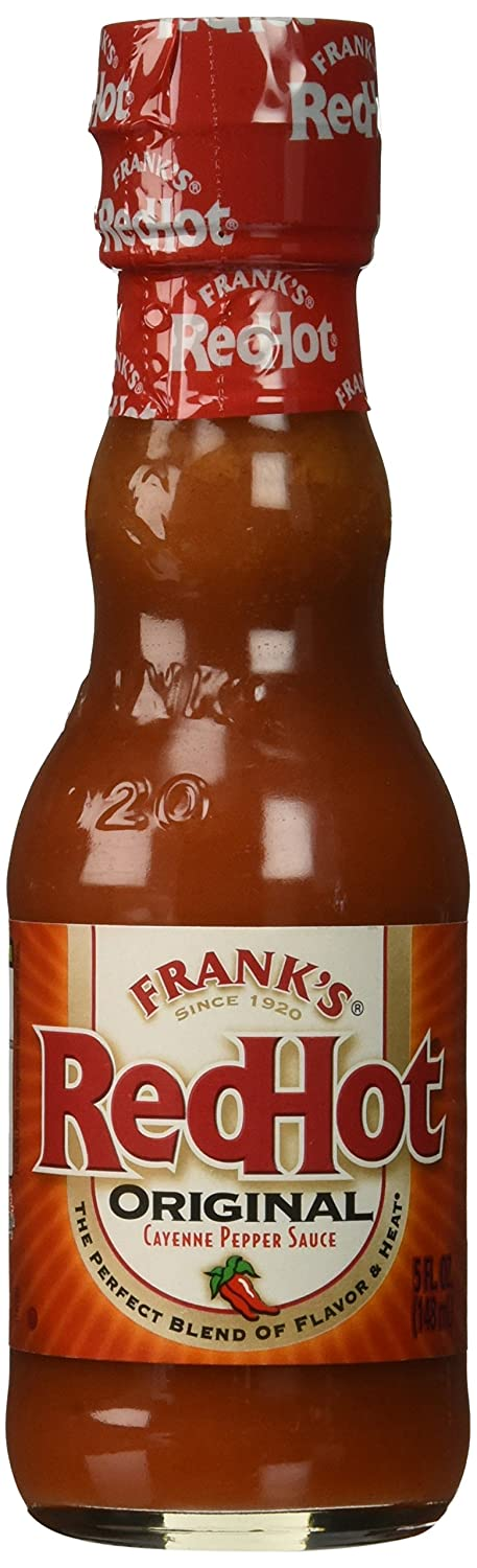 FRANK'S RED HOT SAUCE 5 OZ(Pack of1)