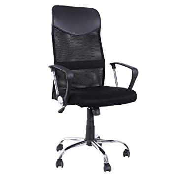 Songmics sedia ergonomica da ufficio sedia girevole sedia for Poltrone per ufficio prezzi