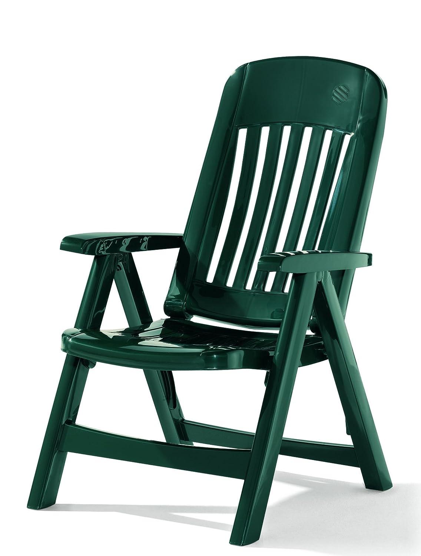 Sieger 828/S Klappsessel Comtesse, Vollkunststoff, smaragdgrün
