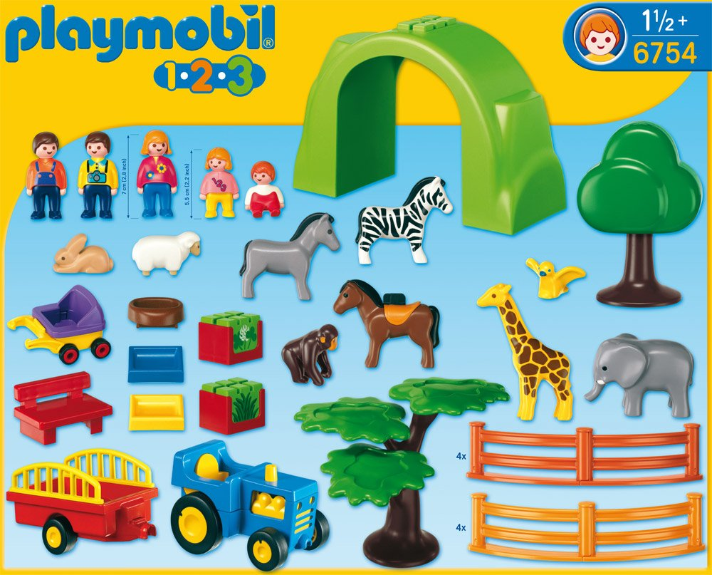 playmobil 123 zoo. Black Bedroom Furniture Sets. Home Design Ideas