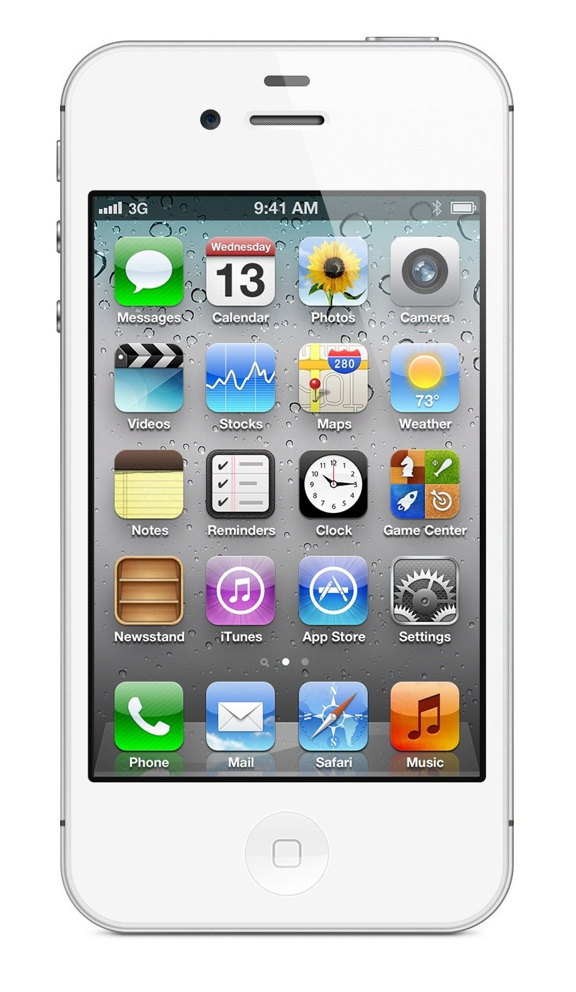 Apple iPhone 4S 16GB Unlocked - White (Certified Refurbished)