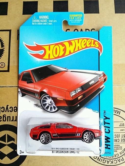 Hot Wheels HW City '81 Delorean DMC-12 (Red) 33/250