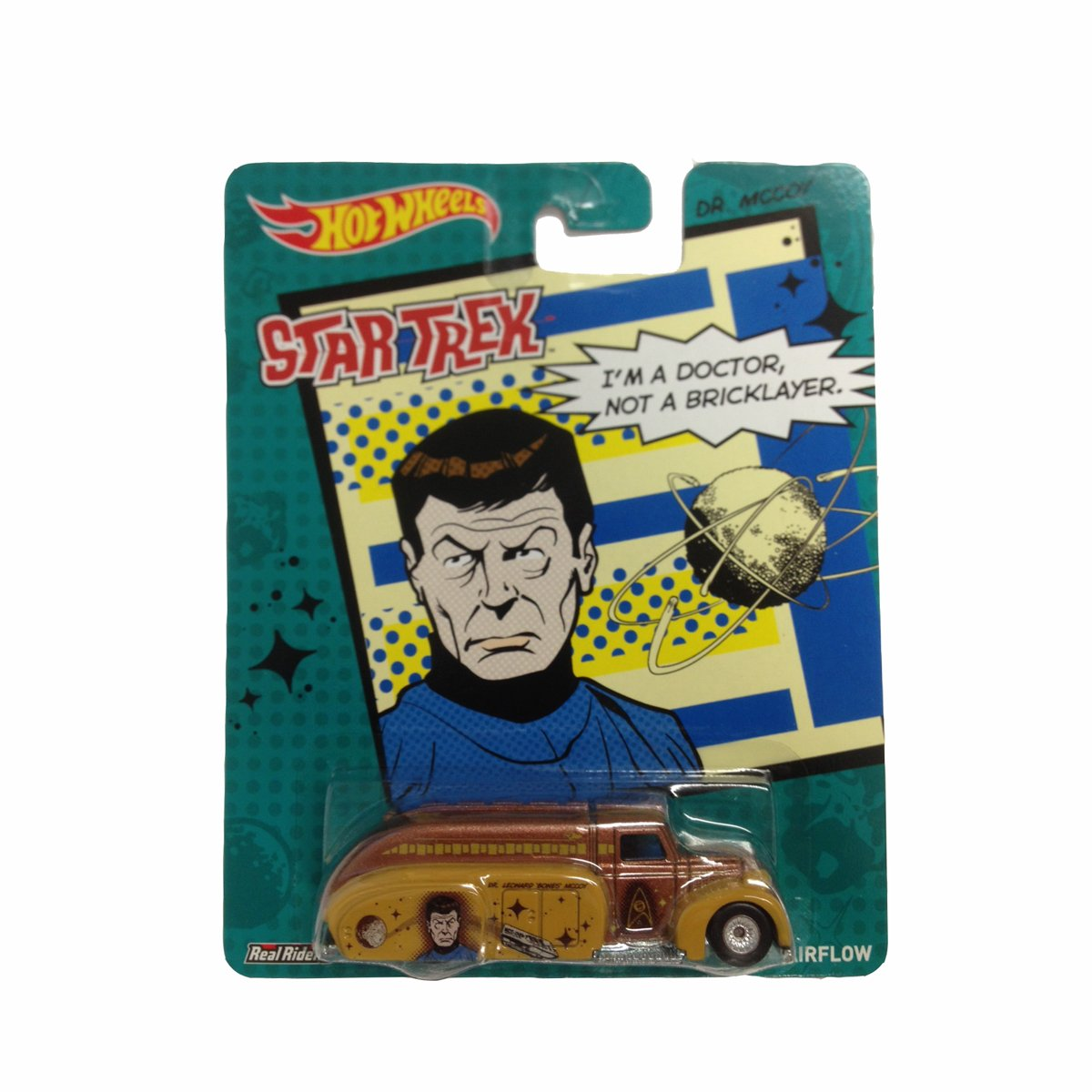 Star Trek Hot Toys Hot Wheels 2013 Star Trek Pop
