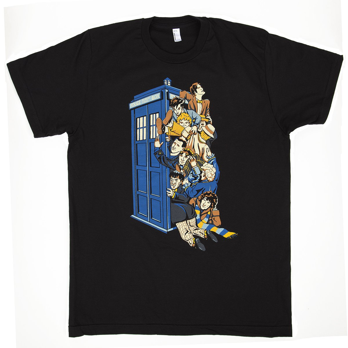 Ian Leino Design - Doctor Who 'Who's Who' Short Sleeve Shirt