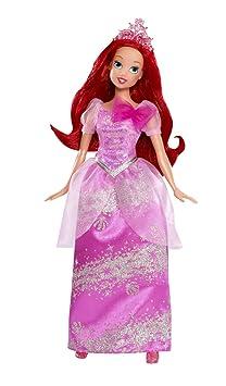 Disney Princesses - W5550 - Poupée et Mini-Poupée - Ariel Paillettes