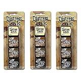 Tim Holtz Distress Mini Ink Kits-Kit #3 (3 Pack) (Tamaño: 3 Pack)