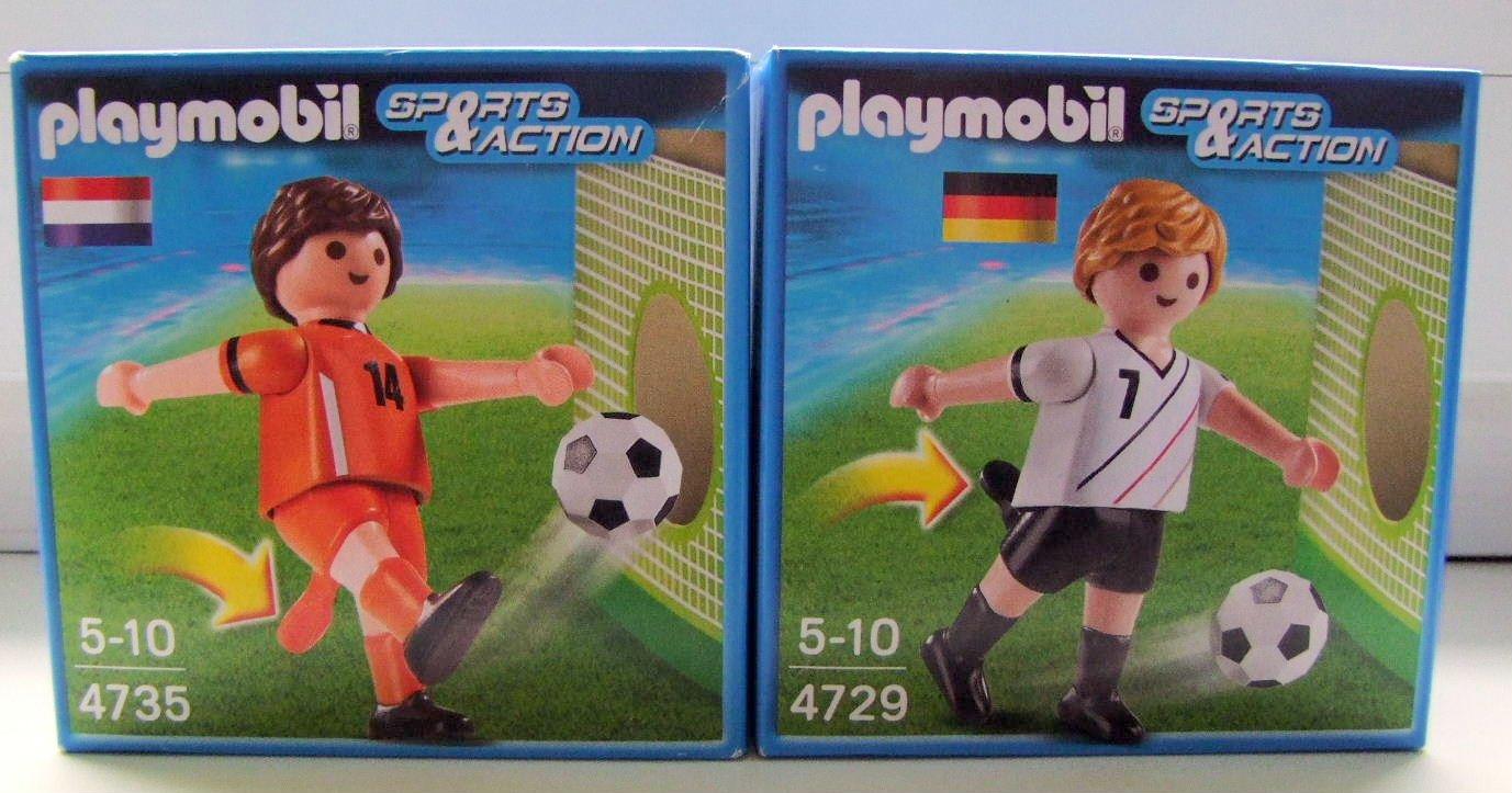 4729 – Fußballspieler Deutschland + 4735 – Fußballspieler Niederlande günstig kaufen