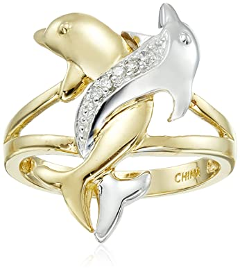 Dolphin Wedding Ring Independence Day