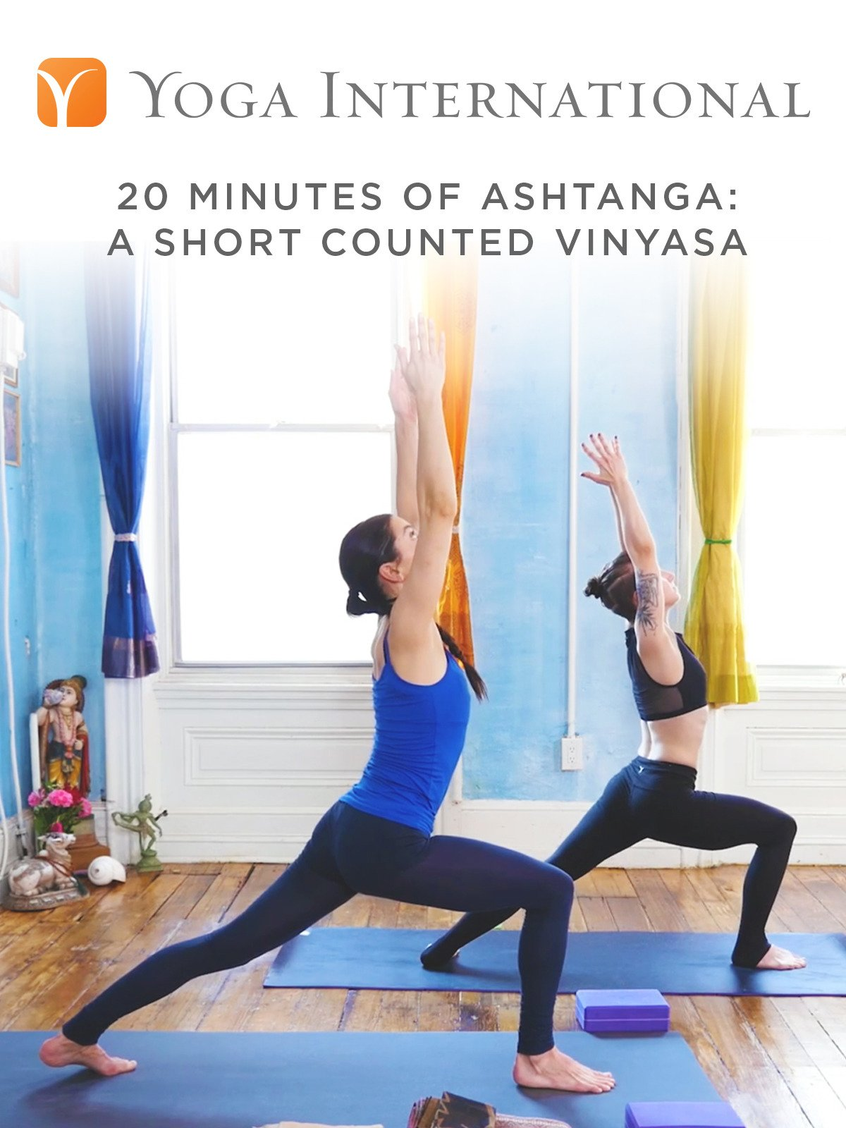 20 Minutes of Ashtanga: A Short Counted Vinyasa