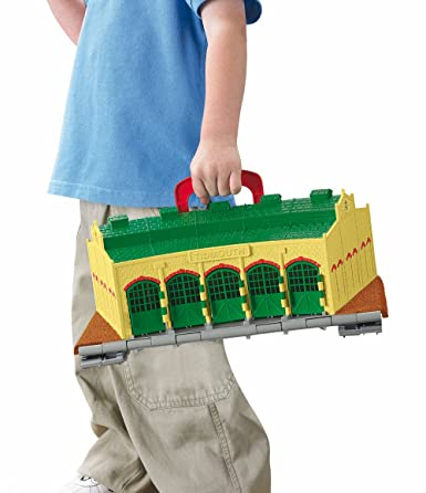 Detalles de thomas and friends take n play tidmouth arroja playset inc