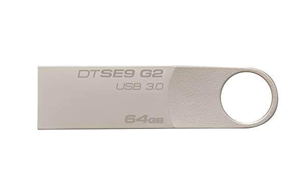 Kingston Digital 64 GB Data Traveler SE9 G2 USB 3.0 Flash Drive (DTSE9G2/64GBET) (Color: DTSE9G2, Tamaño: 64GB)
