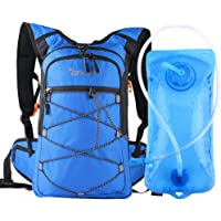 OXA Hydration Backpack with 2L Water Bladder (Blue / Black)