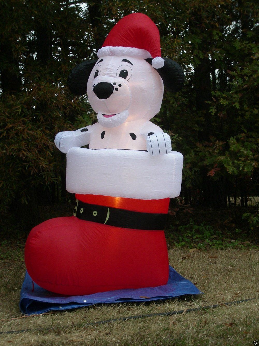 Lighted Dog Or Can Outdoor Decoration Dalmatian