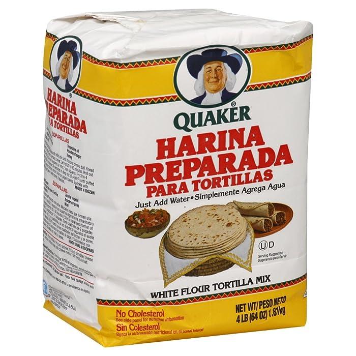 Quaker Masa Preparada Via Amazon