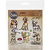 Sizzix Doodlebug SIZ661593 THoltz Framelits Die Crazy Dogs (Color: Crazy Dogs)