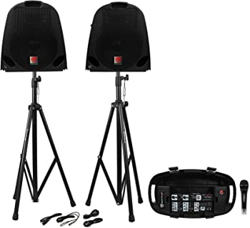 Rockville GB1 Portable Powered PA System