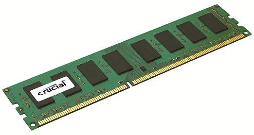 Crucial CT25664BA1339 2GB 240 PIN PC3 10600 DIMM DDR3 Memory