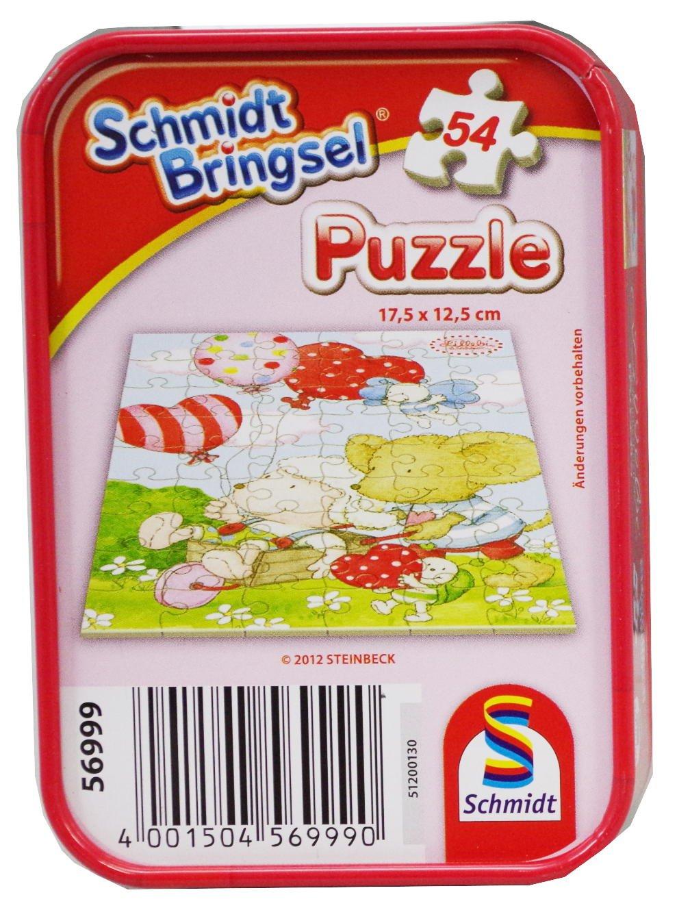 Mini Puzzle 54 Teile in Metalldose SCHMIDT 56999 günstig als Geschenk kaufen