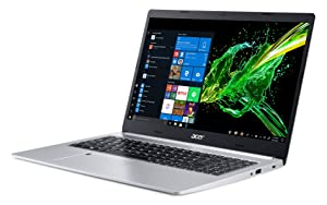 Acer Aspire 5, 15.6 Full HD IPS Display, 8th Gen Intel Core i5-8265U, 8GB DDR4, 256GB PCIe NVMe SSD, Backlit Keyboard, Fingerprint Reader, Windows 10 Home, A515-54-51DJ (Color: Silver, Tamaño: 15-15.99 inches)