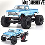 Kyosho 34254B Mad Crusher VE RC Toy, Blue (Color: Blue)