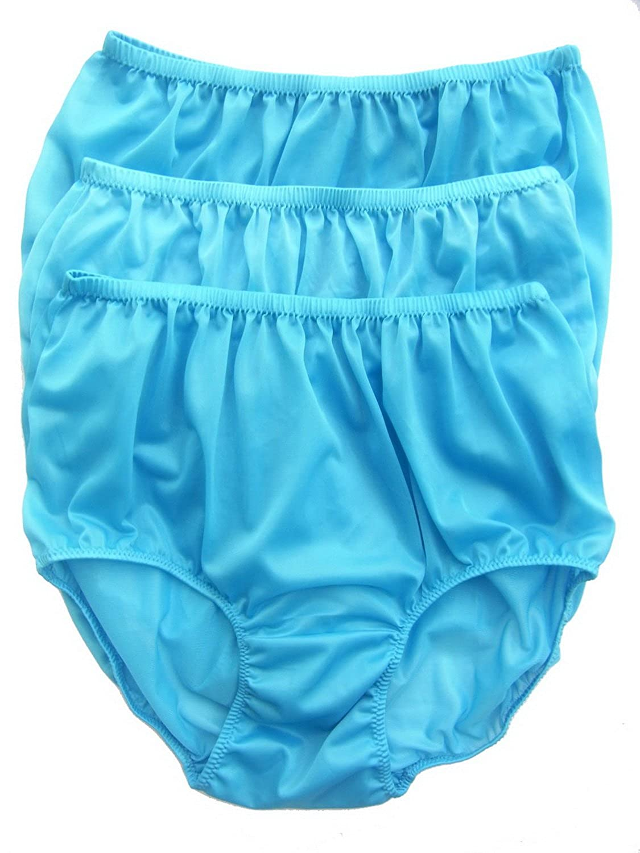 Höschen Unterwäsche Großhandel hellblaublau Los 3 pcs LPKLB Lots 3 pcs Wholesale Panties Nylon jetzt kaufen