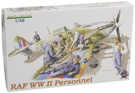 Eduard EDK8508 RAF WW2 Personnel 1:48 Plastic Kit Maquette