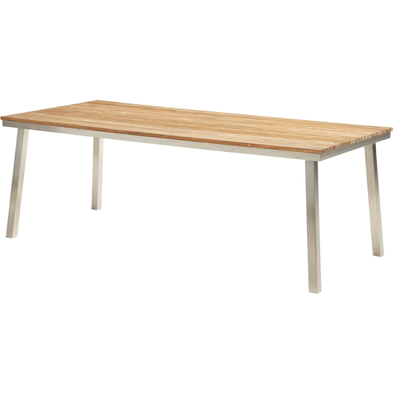 4Seasons Outdoor Dolce Tisch 210 x 96 cm recycletes Teakholz/Edelstahl bestellen