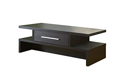 Furniture of America Langford 1-Drawer Coffee Table, Cappuccino