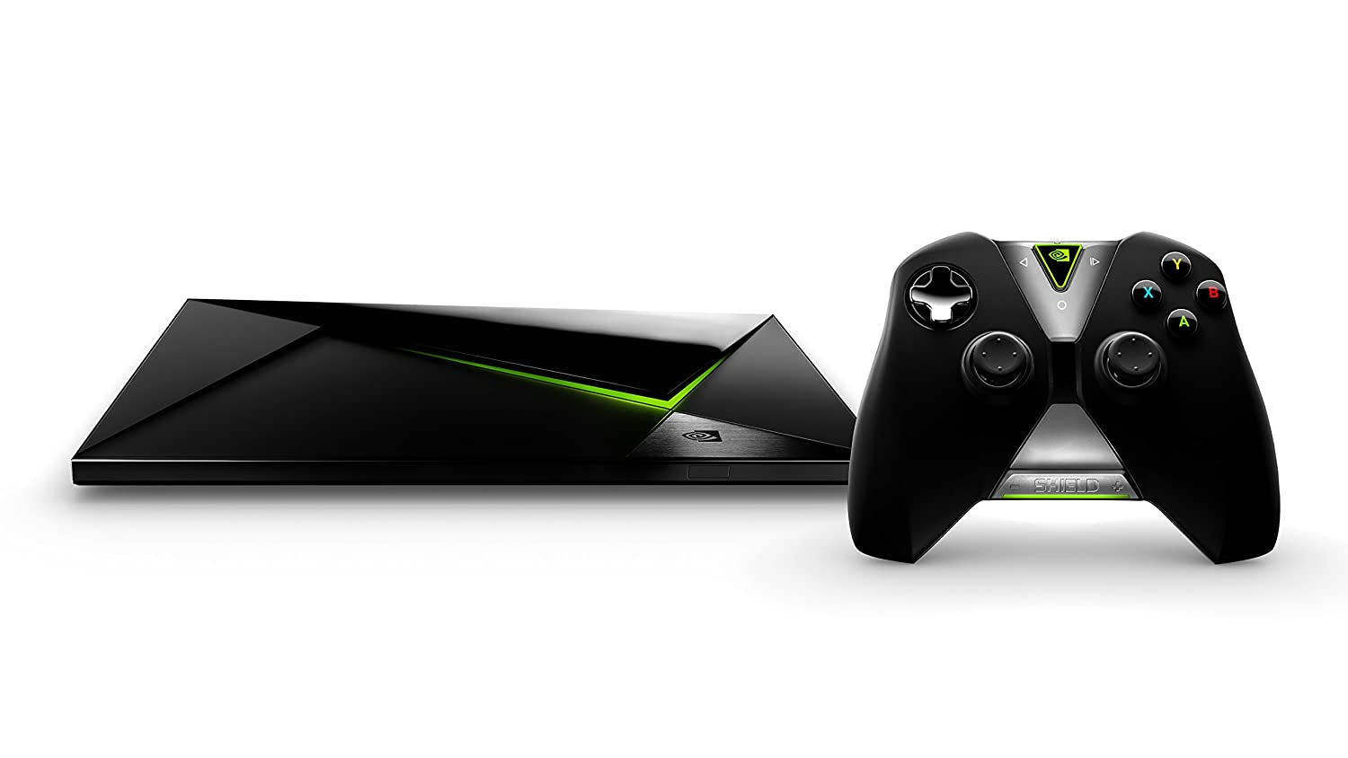 NVIDIA SHIELD - 4K Streaming Media (Netflix, HBO, Kodi / XBMC). Android TV with Chromecast. Advanced Gaming. 4X Higher Performance (Apple TV / Roku)