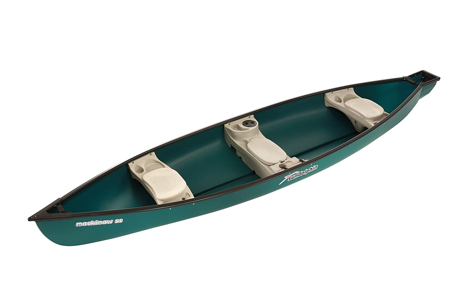 Sun Dolphin Square Back Canoe, 15.6-Feet, Green