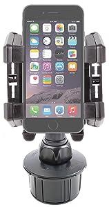 DURAGADGET Soporte Portavasos De Coche Para El Nuevo Apple iPhone 6 De 4.7/ 6 Plus 5.5  Electrónica Revisión del cliente